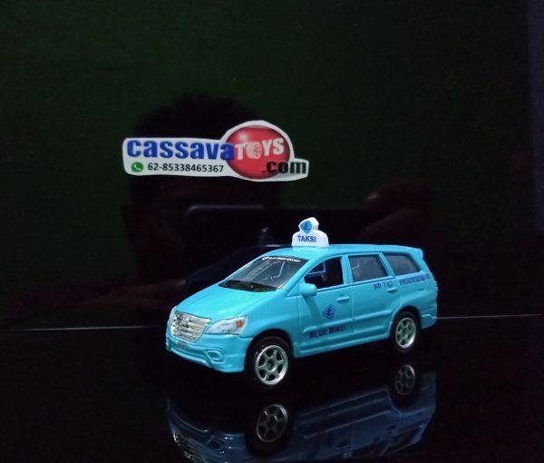 diecast taxi blue bird